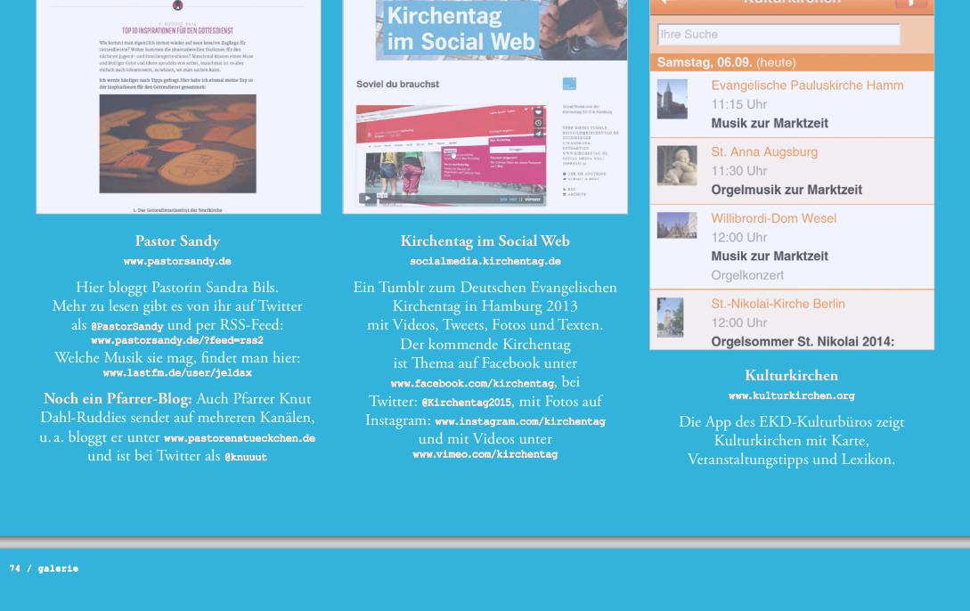 @pastorsandy ihr blog @knuuut sein Blog