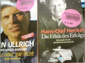 Jan Ullrich Hans Olaf Henkel Nikolaus Schneider
